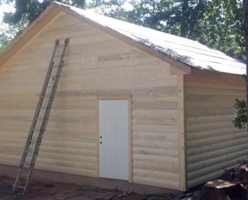 Detached Garage - Custom Home Builder