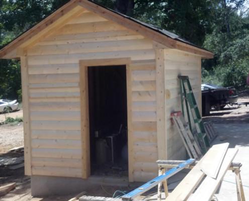 Well house - custom home builder