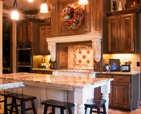 Designer Kitchen in Custom Home Build